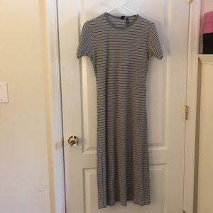 Gap grey rib knit dress size 10